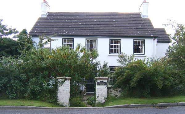 Photograph of Leathem Cottage, built in 1786 by Robert Leathem, the oldest continuously occupied home in Belfast, Northern Ireland. Submitted by Noel Lavery - December 16, 2011.